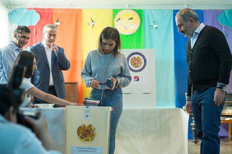 Выборы в Ереване: явка 43,65% - Обновлено