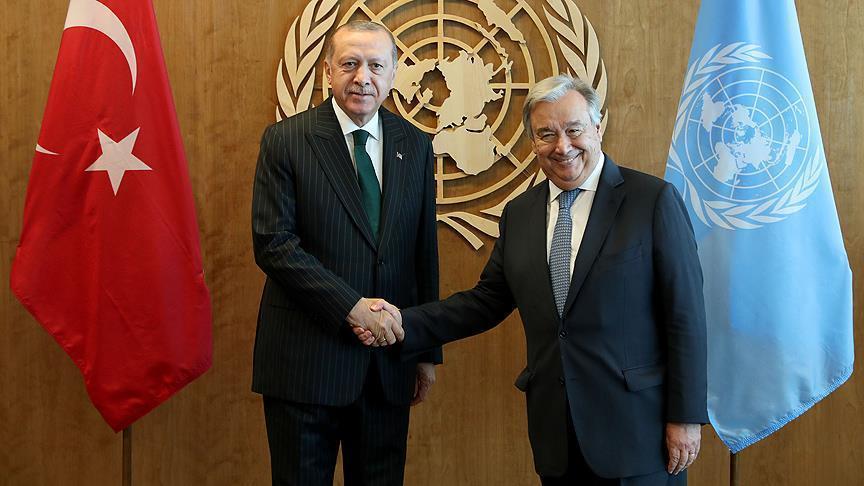 Турция и ООН укрепляют сотрудничество