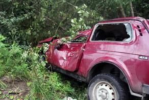 Azərbaycanda avtomobil dərəyə aşdı, sürücü öldü