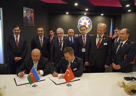 Bakıda ASELSAN-la memorandum imzalandı - Foto