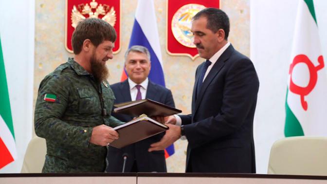 Ингушетия и Чечня обменялись территориями