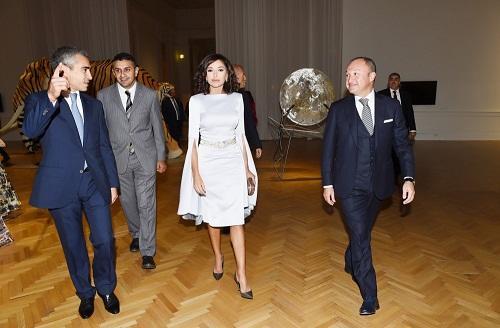 Мехрибан Алиева на официальном приеме в Риме