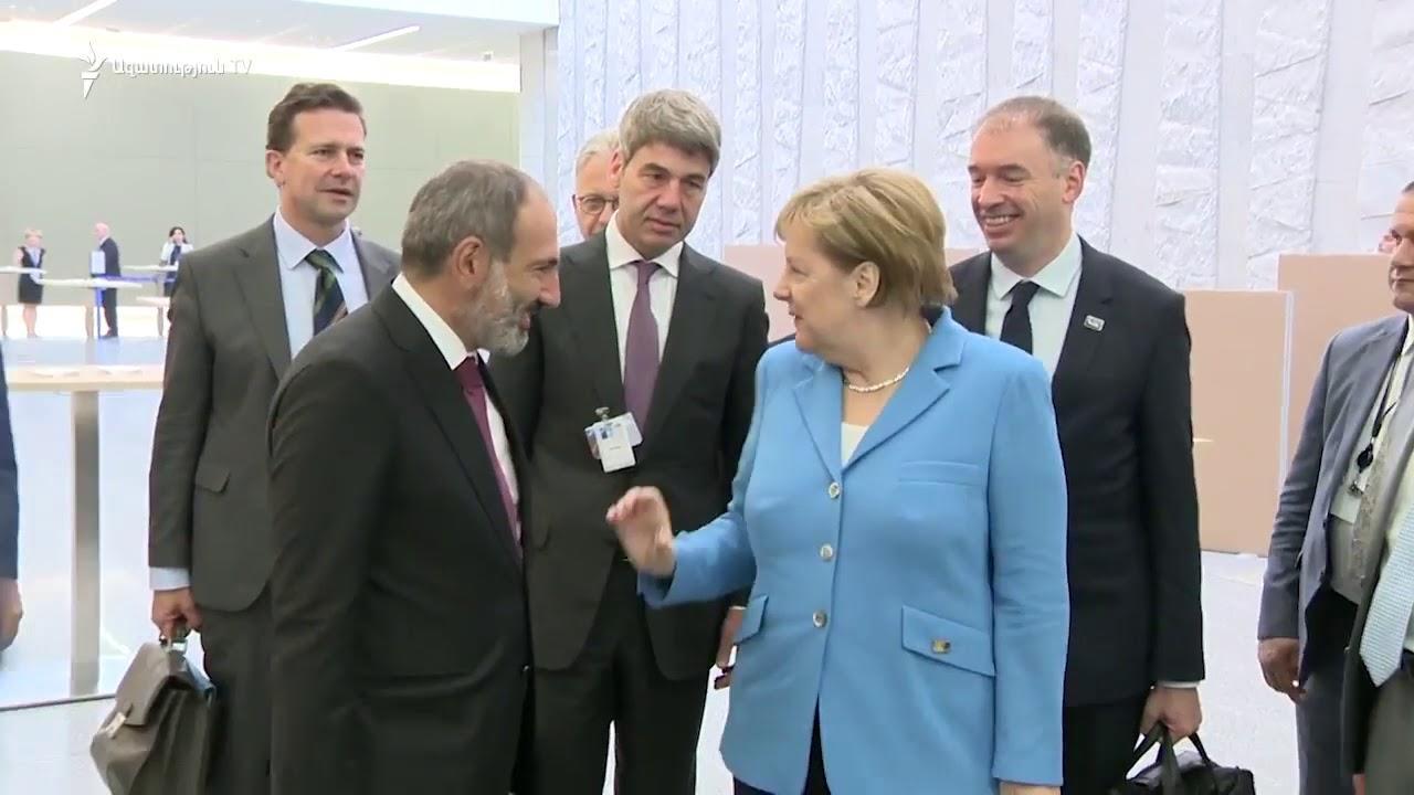 Никол показал Меркель политическое ноу-хау