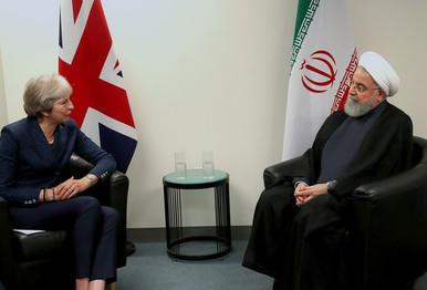 Мэй встретилась с Рухани
