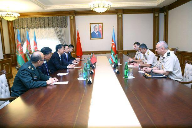 Министр принял представителей китайской корпорации
