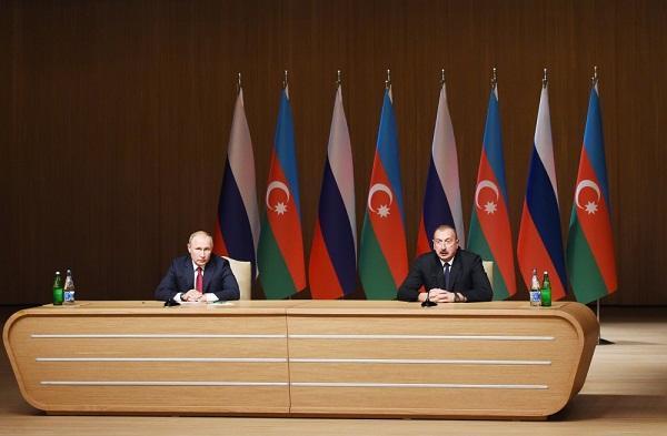 Bakıda mötəbər forum: Əliyev və Putin açılış mərasimində... - Foto