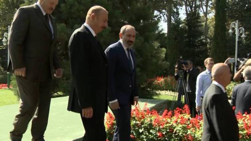 Həmsədrlər İlham Əliyev və Paşinyanla görüşəcək