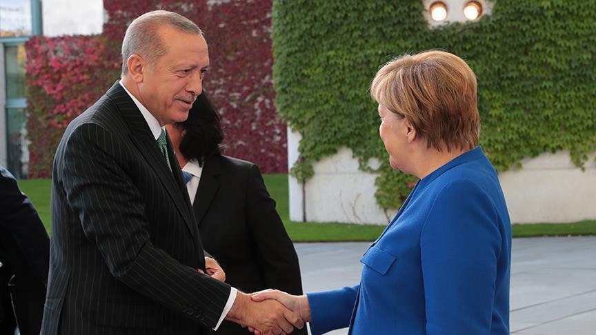 Эрдоган и Меркель обсудили Ливию