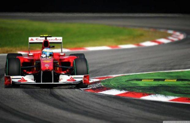 Formula 1 fully provided with telecommunication services