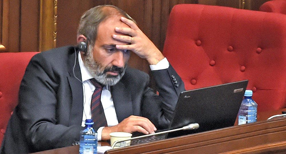 Пашинян обвинил парламент в саботаже