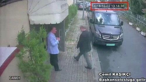 Türk polisi Qaşıqçının əşyalarını tapdı