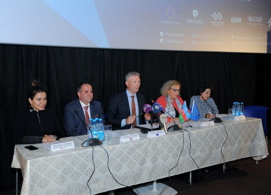 Avropa Film Festivalı Bakıda - Foto