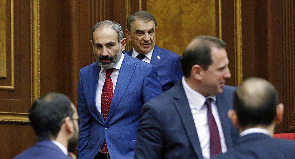 В Армении правят бал оккупанты в лице Пашиняна