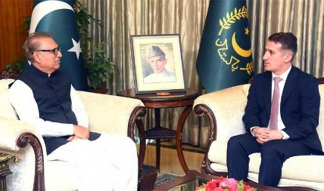 Pakistani President invited to Azerbaijan