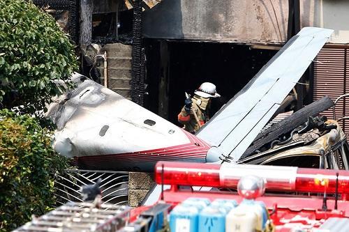 Крушение самолета во Франции: 4 погибших