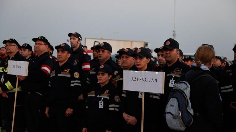 FHN-çilər Serbiyada təlimə qatıldı - Fotolar