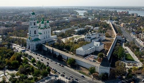 A logistics centre is being established in Astrakhan