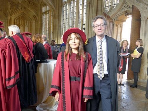 Paşayeva Oksford Universitetinin bu komitəsinə üzv seçildi - Foto