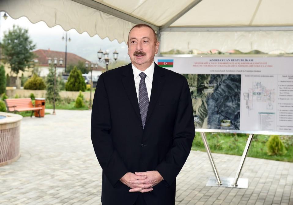 Müvafiq göstərişlər veriləcək - İlham Əliyev