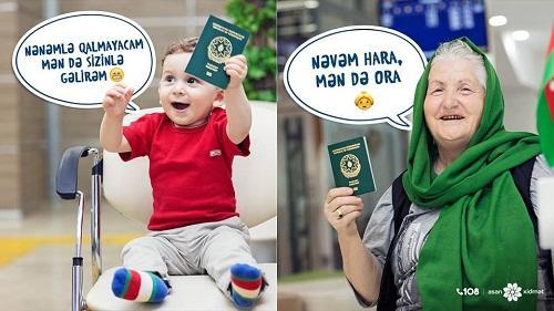 Xarici pasportu uşaq da ala bilər – Foto