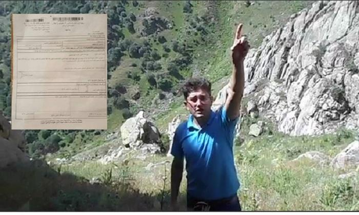 آذربایجانلی فعال محمد خاکپور محکمهیه چاغیریلیب