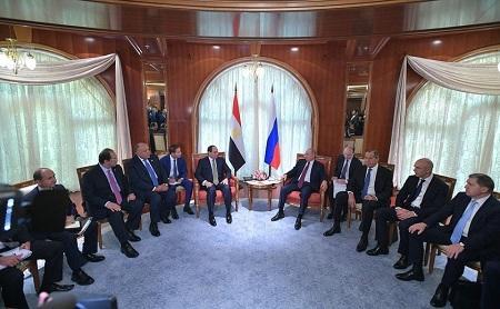 Putin Sisi ilə memorandum imzaladı: Sənaye zonası yaradılır
