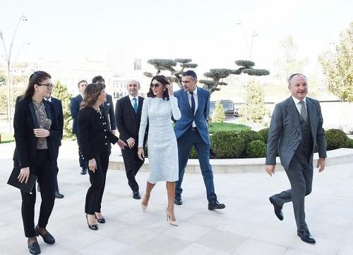Мехрибан Алиева встретилась с Казеллати - Фото