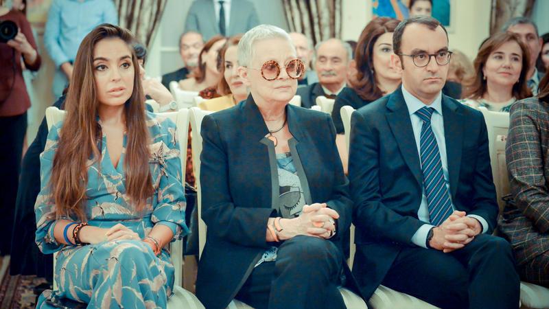 Leyla Əliyeva filosofa həsr edilən kitab təqdimatında - Foto