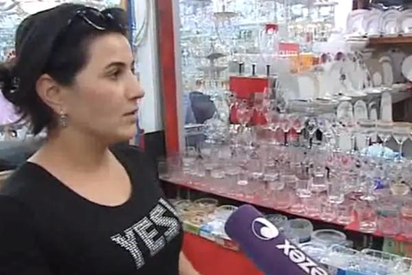 Bakıda satıcının pulu və qızılları belə oğurlandı - Video