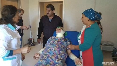 Lənkəranda ikimərtəbəli ev yandı: 70 yaşlı qadın… - Foto