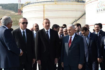 """İlham Əliyevlə Ərdoğanın """"Star""""la tanışlığından - Fotolar"""