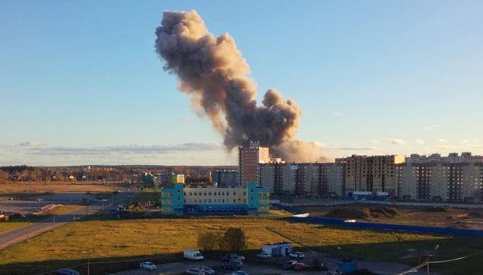 Rusiyada zavodda partlayış - Video