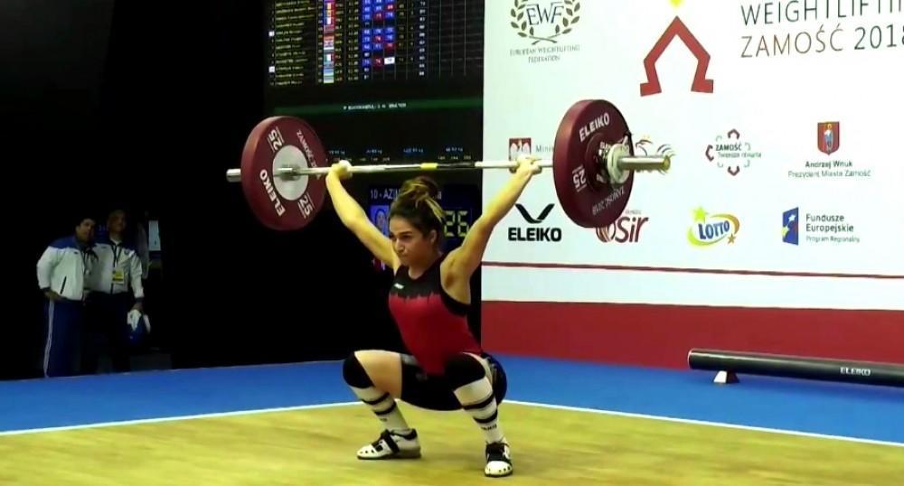 Millimiz Avropa birinciliyində ilk medalını qazandı