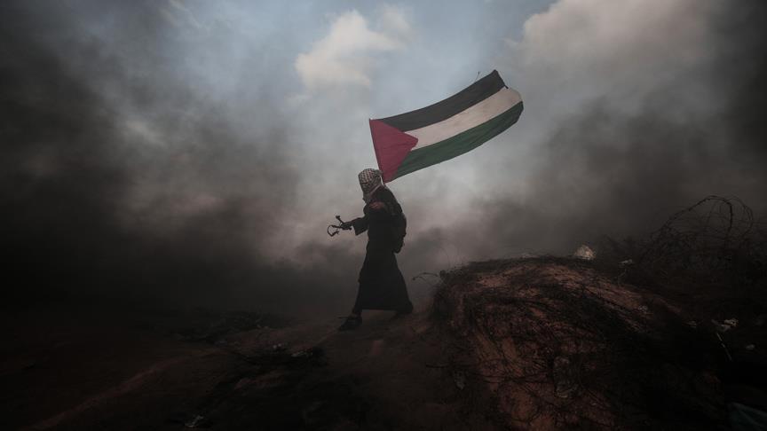 В стычках на границе Газы пострадали 120 палестинцев