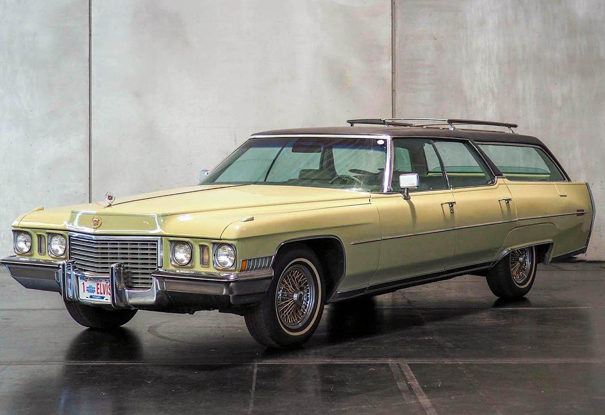 С молотка ушёл последний Cadillac Элвиса Пресли
