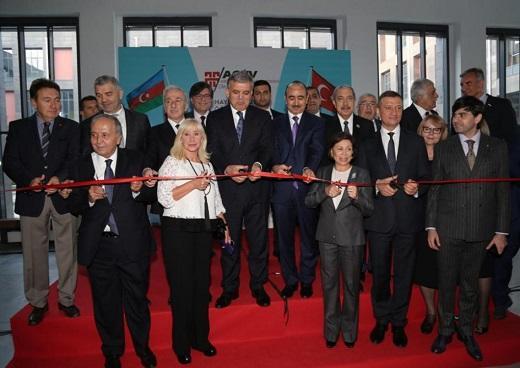 Kayseridə Heydər Əliyev adına yataqxana açıldı - Foto
