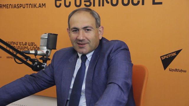 Пашинян поет - Видео