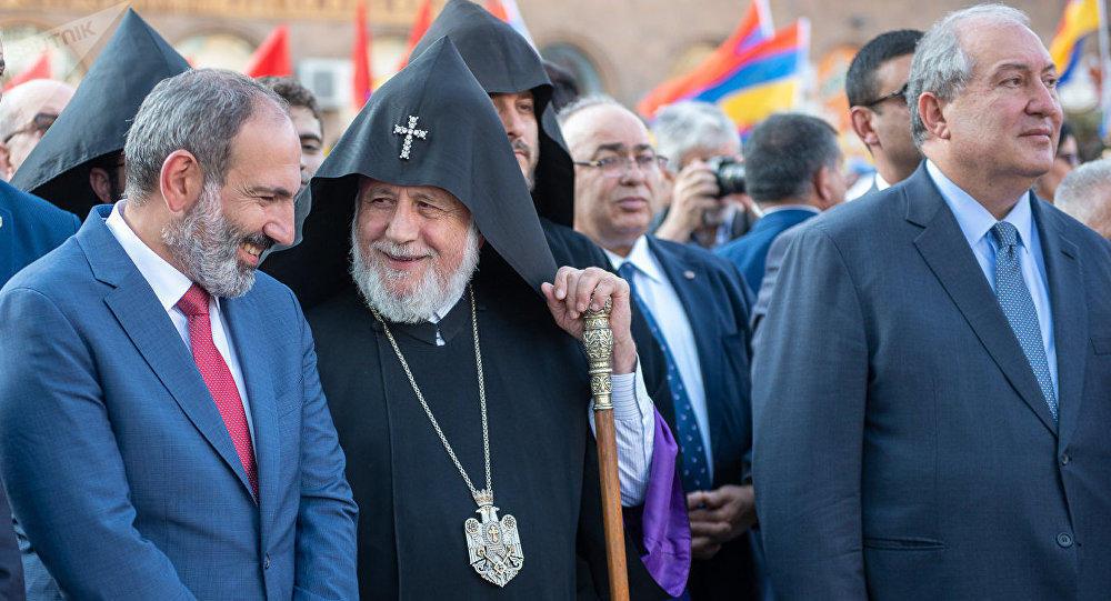 Пашинян о своей причастности к религиозным сектам