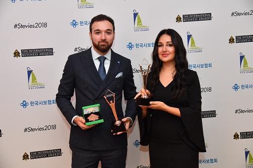"""""""Gilan Holding"""" 3 beynəlxalq mükafata layiq görüldü"""