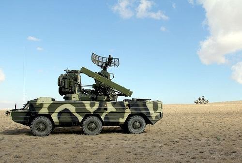 Продолжаются учения подразделений ПВО – Видео