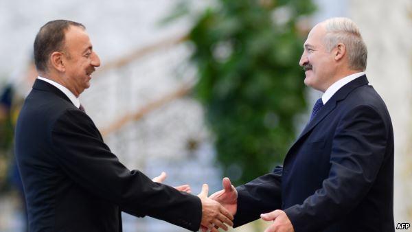 Алиев едет в Минск за военными технологиями  - Алесин