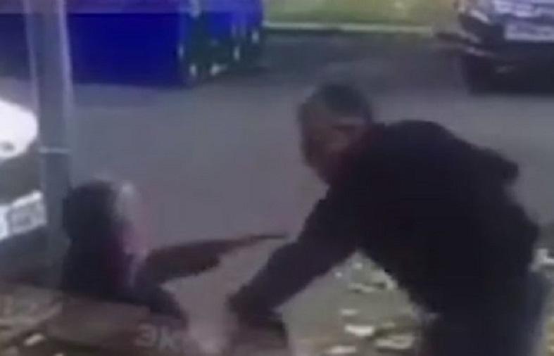 Azərbaycanlı avtoritetin dəhşətli qətl anı - Video/23+