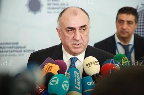 Эльмар Мамедъяров в осажденной Шуше - Фото