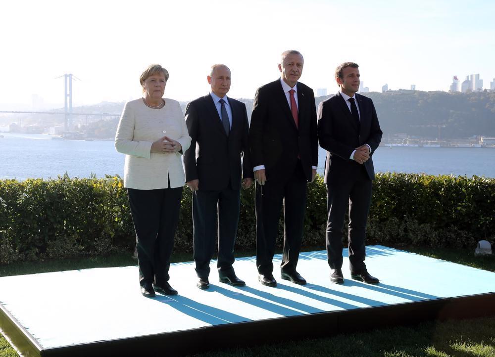 Merkel və Makrondan Putinə: Ərdoğanla danışığa hazırıq!