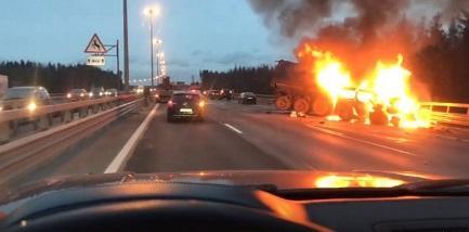 Rusiyada dəhşət: 8 nəfər yanaraq öldü