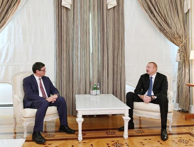 Ильхам Алиев провел ряд встреч