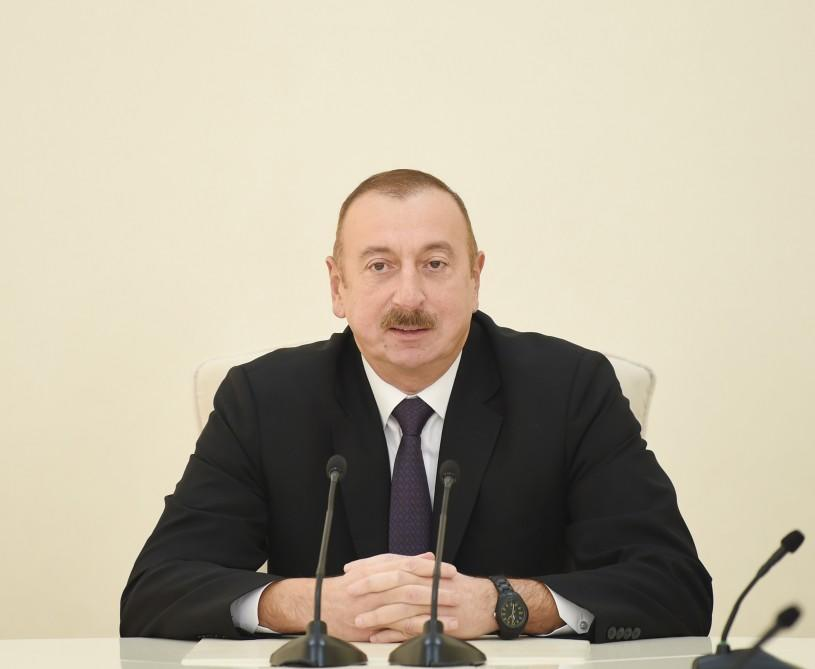 President Ilham Aliyev's article was published