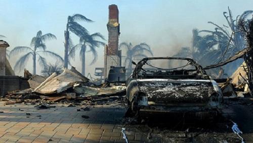 Число жертв лесных пожаров в Калифорнии превысило 40