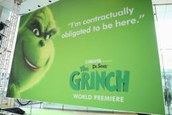 Dr. Seuss 'The Grinch' wins weekend box office