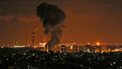 3 killed as Israel strikes Gaza after rockets fired